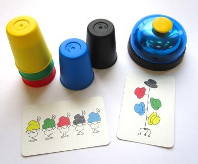 Crazy Cups  Jeu de société d'ambiance pour enfant  Gigamic