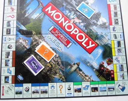 MEGA Monopoly Schweiz 2