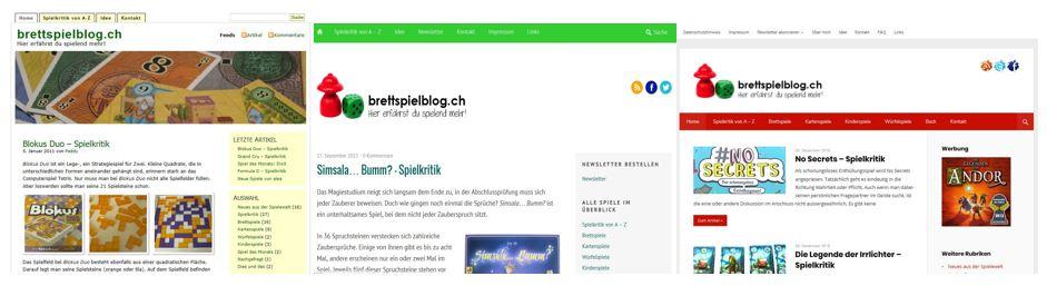 brettspielblog.ch - Im Wandel der Zeit