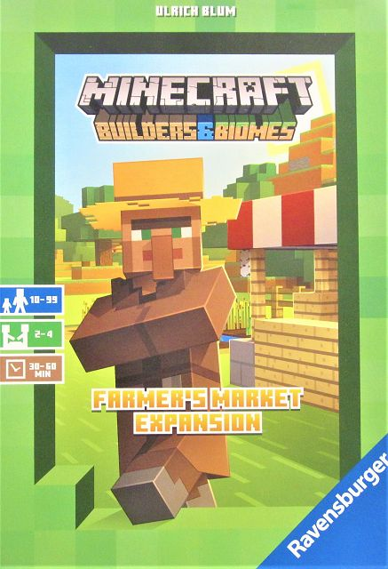 Minecraft Builders & Biomes Farmers Market Expansion