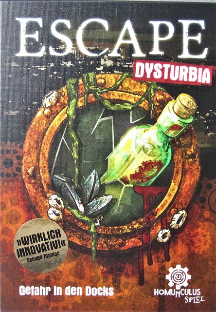 Escape Dysturbia - Gefahr in den Docks